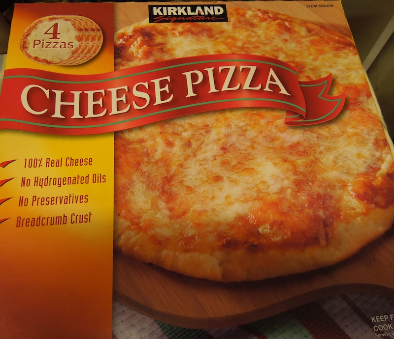 Costco Margherita Pizza Cooking Directions Actual Sale