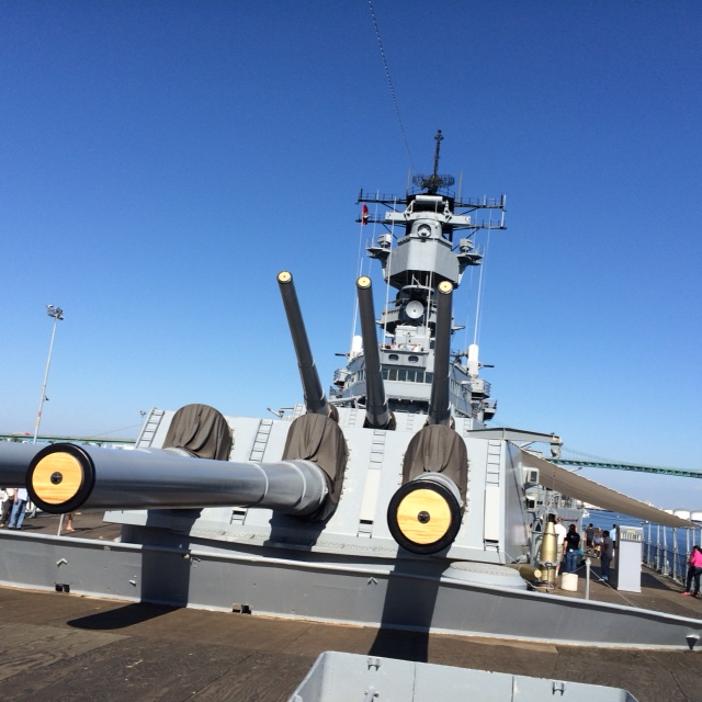 Tour of a the USS Iowa - Persona Paper