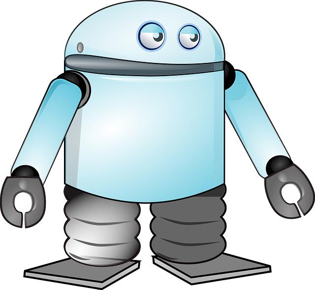 Line Art,small Appliance,cartoon - Evil Robot Png Cartoon , Free  Transparent Clipart - ClipartKey
