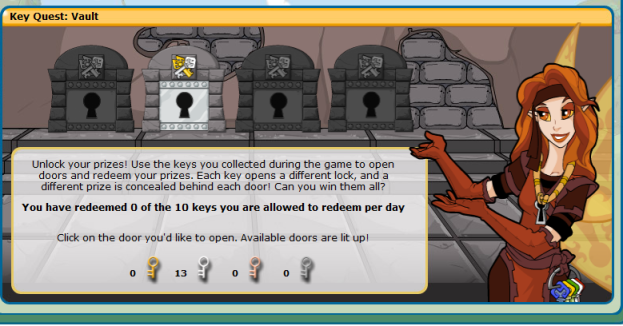 Key quest prizes neopets cheat